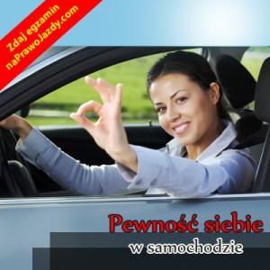 Prawo jazdy stres na egzaminie - Pewnosc siebie w samochodzie